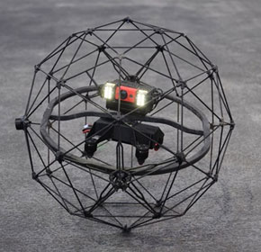 Safe drones for inaccessible places