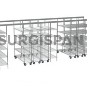 Chrome Wire Shelving - SURGISPAN®