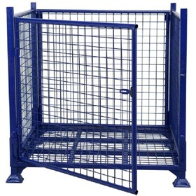 Pallet Cage Stillage Cage 1000kg Swing Door