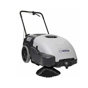 Nilfisk Walk behind Battery Operated SW 750 Sweeper