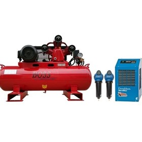 BOSS - 20CFM/ 4HP Compressor Clean Air Package - BC20E-112LK