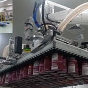 Case study: Automatic accumulation and palletisation of loose paper cans
