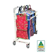 Heavy Duty Mobile Lead Apron Rack for X-Ray Top & Skirts