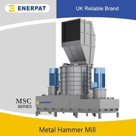 Vertical Scrap Metal Hammer Mill | Vertical Shredders