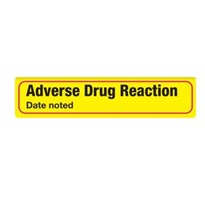 Adverse Drug Reaction | with Dated noted: