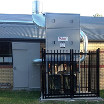 Temora Catholic High School installs a new dust collection system