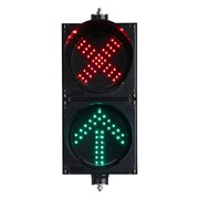 LED Traffic Lights | 2 Aspect 200mm Lane Control