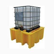 Single IBC Spill Pallet – No Grate