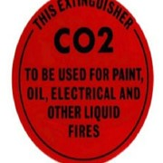 Identification Sign - CO2