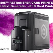 CR805 Retransfer Card Printer