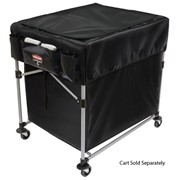 Collapsing X-Cart Laundry Basket Truck