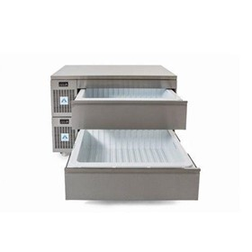 Double Dual Temperature Drawer VLS2