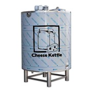 Cheese Processing Machine | 400 Ltr Stainless Steel Milk Tank