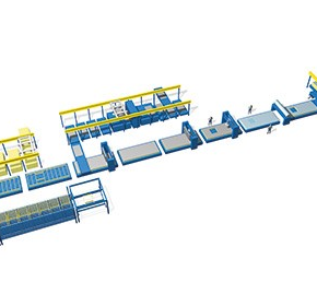 Wall and Roof Production Lines | Randek Auto Wall System - S3000