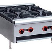 F.E.D GasMax Cook Top NG 4 Burners With Flame Failure | RB-4E-C