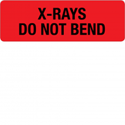 Large Descriptive Identification Labels for X-Ray Use