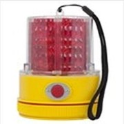 Red LED Strobe Beacon. Battery Operated. Magnet Mount. 740R