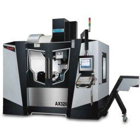 5 Axis CNC Machining Centre | AX 320 Series - Trunion