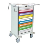 Light Aluminium Paediatric Emergency Carts | Waterloo UXGLA-9PEDS