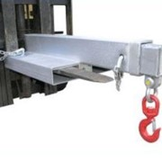 Fixed Jib Short Forklift Attachment with 4500Kg SWL