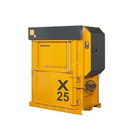 Bramidan X25 Vertical Baler | Great for Cardboard & Plastic
