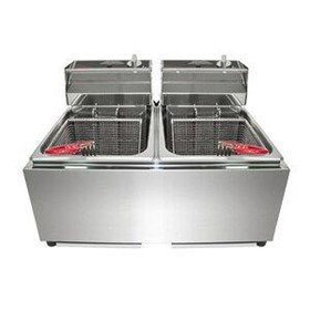 Double Countertop Deep Fryer | WFRT80