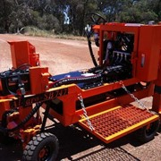 Alcaro Kerb Laying Machine - SB748