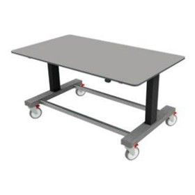 Electric Height Adjustable Table | SmartPack Table - Stainless Top