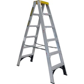 Aluminium Double Sided Step Ladder 120 kg 6ft 1.8m | Series