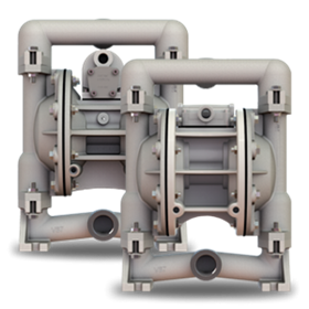 Versa-Matic | Air Diaphragm  Pumps | E1 1″ Metallic