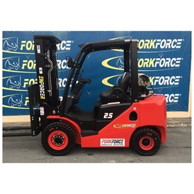 2.5T LPG Petrol Forklift Container Mast