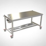 Veterinary Mortuary Trolley