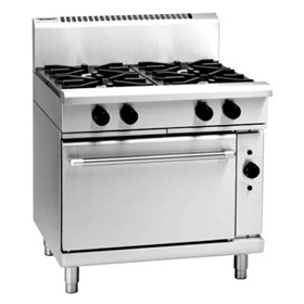 Gas Range Electric Convection Oven | 900mm RN8910GEC