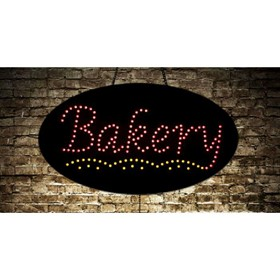 Animated Bakery LED Sign