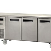 Sanden SPC-1807A 3 Solid Door Under Bench Chiller
