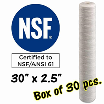 "Dia Filter Cartridges - 30"" Length / S30A-5A-Box"