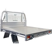 Ute Tray-Tray Deck with Headboard (Single Cab 1)
