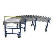 Heavy Duty Steel Wheel Expandable Conveyor