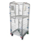 Roll Caged Shelf Trolley | RCT400