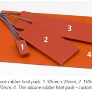 Moulded Silicone Rubber Heat Pads