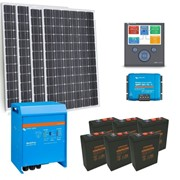 Victron | Powered Off Grid Solar Kit  | Solar Panels  – 3kW PV Array