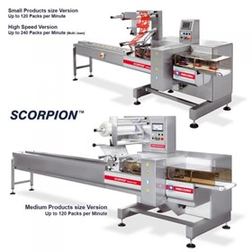 Horizontal Flow Pack Machine (HFFS) | Scorpion Bottom Seal