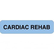 Cardiac Rehabilitation Professional Chart Identification Labels