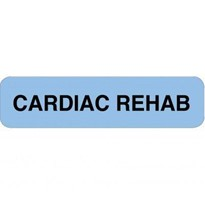 Cardiac Rehabilitation Professional Chart Labels