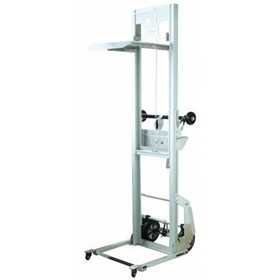 Mini Aluminium Manual Hand Stacker | DEP90