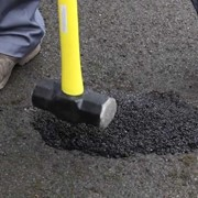 How to repair potholes, utility cuts and damaged asphalt the easy way