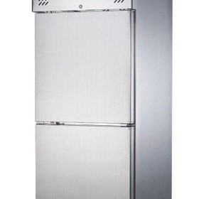 FED-X S/S Two Door Upright Fridge - XURC650S1V