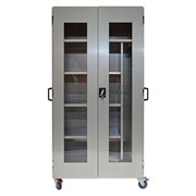 Robust Stainless Steel Medical Storage Cabinet