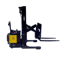 Full Electric Walkie Reach Stacker | 1500kg/5.5m Lifter
