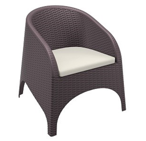 Aruba Tub Armchair | Resin Rattan